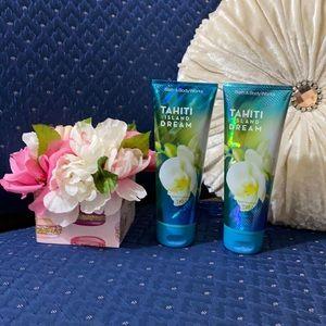 BATH & BODY WORKS SET. . . TAHITI ISLAND DREAM